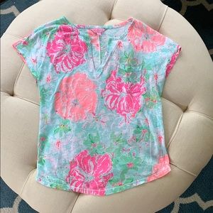 Lilly Pulitzer Linen Top